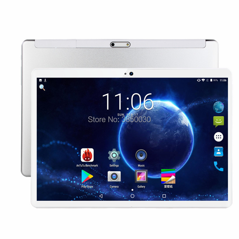 New Android 7.0 GPS Tablet 10 Inch Tablet Quad Core 3G Phone Call 2GB RAM 32GB ROM Dual SIM 8.0MP Wifi Bluetooth + Gift