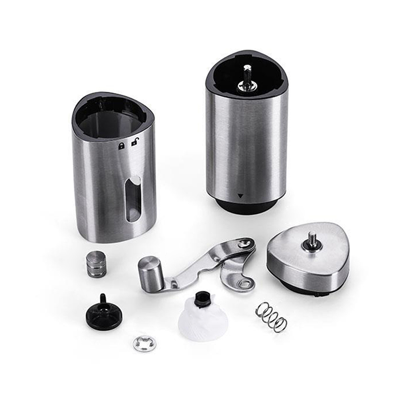 Adjustable Manual Coffee Grinder Stainless Steel Household Hand Grinder For Espresso