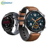 22 MILLIMETRI di Smart Watch Band Per Amazfit GTR 47MM Braccialetto Per Xiaomi Huami Amazfit gtr Ritmo/1 Stratos /2 in pelle + Cinturino In Silicone