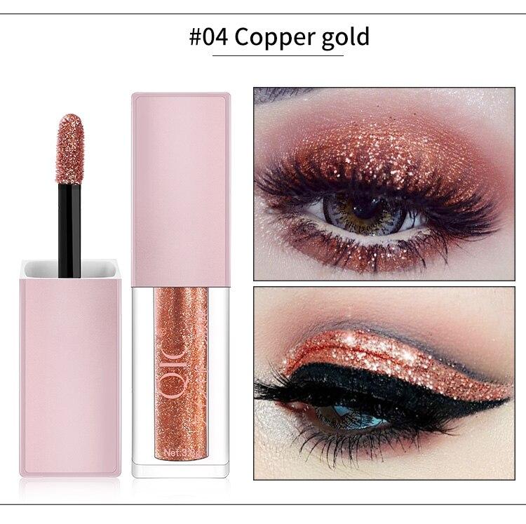 Brand Eyes Makeup Glitter & Shimmer Liquid Diamond Pearly Shinning Cream for Eye Shadow Eyeliner Make up Eye Liner Glitters
