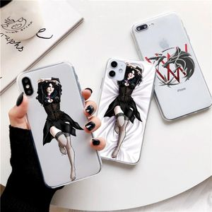 Arrival Yennefer witcher Wizard Wolf Cartoon Clear Funda Phone Case For iPhone 11 Pro MAX 7S 7 6 8 Plus XS X XR 5S 6s 7s Cover(China)