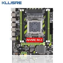 Материнская плата Kllisre X79 LGA 2011, модель, интерфейс M.2 NVME, поддержка процессора Intel Xeon E5 V1 и V2, DDR3 ECC, ОЗУ X79G, десктопная материнская плата