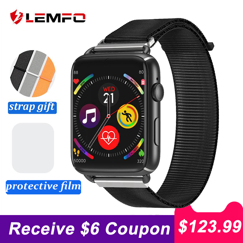 LEMFO LEM10 4G Smart Watch Android 7.1 1.88inch Screen 3GB+32GB Support SIM Card WIFI GPS 780mAh Battery Smartwatch Men