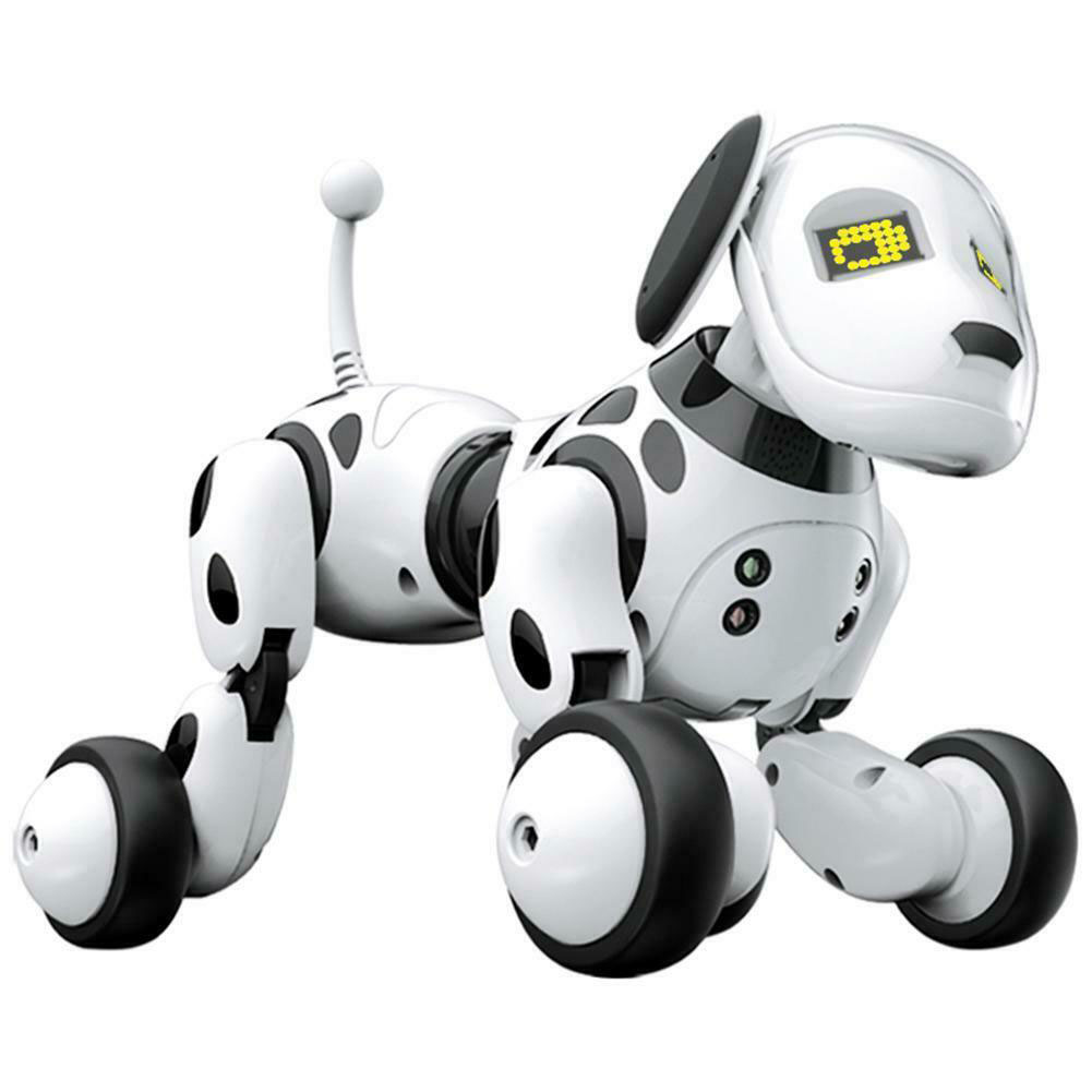 RC Robot Dog Cute Animals Intelligent Interactive Led Birthday Gift Smart Remote Control Electronic Pet Toy Educational Children