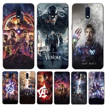 Captain America Iron Man Avengers Cover for oneplus  one plus 7 pro 6 6t 5t Clear Soft Silicone Phone Case