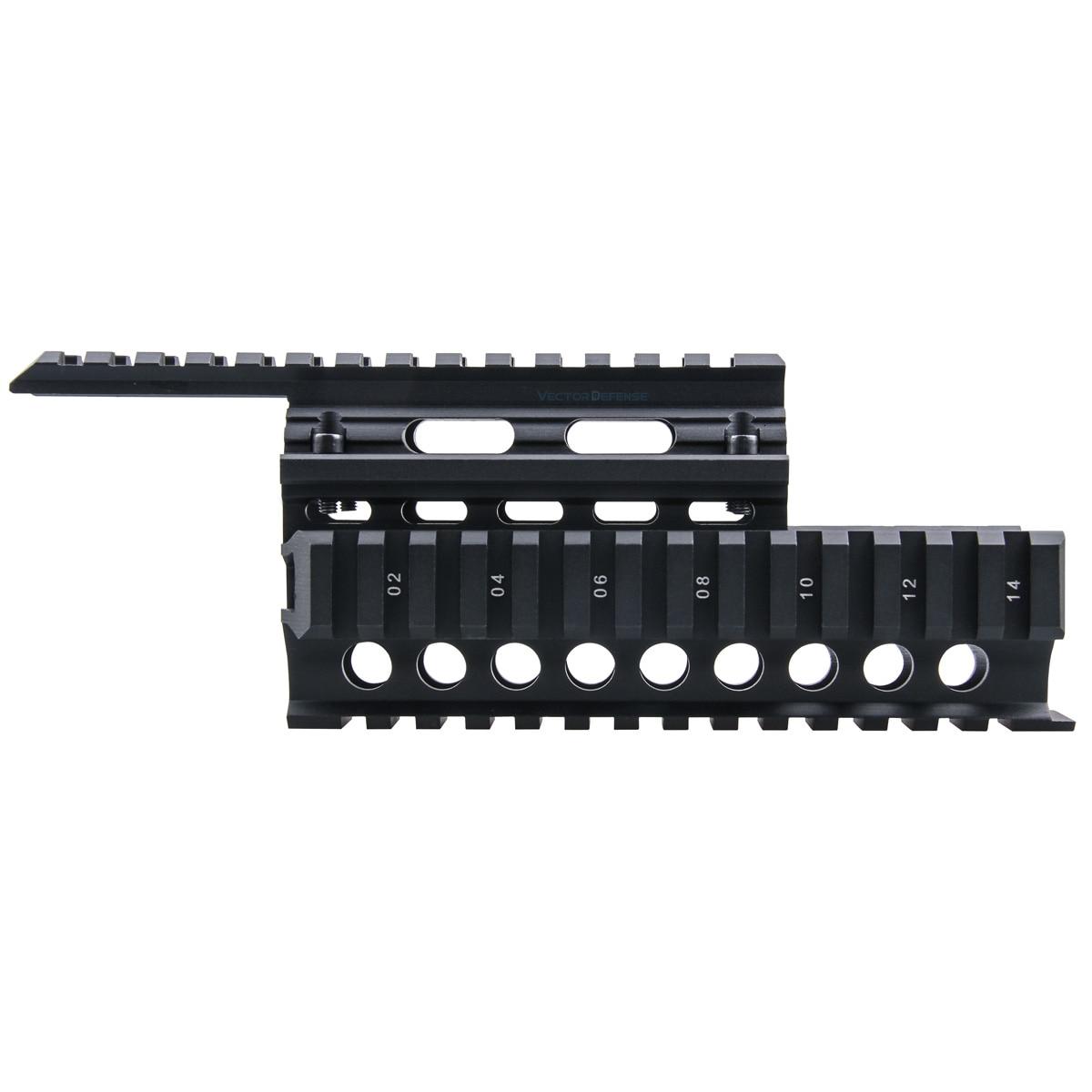 Векторная оптика AK 47 AK74 защита рук 20 мм Пикатинни Quad Rail система крепление крышка охранники/