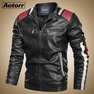 Jacket Motorcycle Vintage Simple Coat Winter Fashion Men Killer Fit Leisure Autumn New