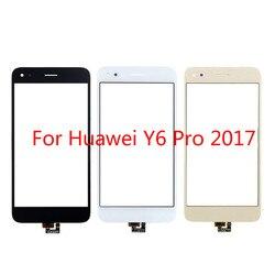 Сенсорный экран для Huawei Y6 Pro 2017 / P9 lite mini 5,0 ''Сенсорная панель дигитайзера переднее стекло