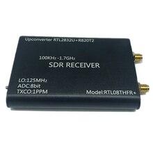 100KHz 1.7GHz Upconverter + 1PPM TXCO RTL SDR מקלט RTL2832U + R820T2 SDR רדיו RTL08THFR + SDR
