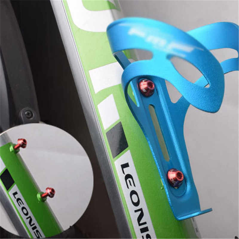 2 قطعة دراجة حامل زجاجة ماء مسامير زجاجة قفص المسمار دراجة زجاجة الترباس دراجة سبائك الألومنيوم المسمار دراجة إصلاح الملحقات