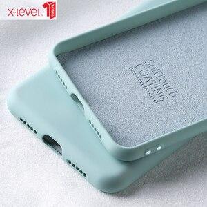 X-level жидкий силиконовый чехол для Huawei P40 P30 P20 Pro Lite Mate 30 20 10 Pro, мягкий гелевый каучук, противоударный чехол-накладка