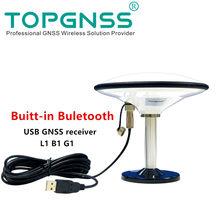 Bluetooth USB GPS GLONASS GALILEO GNSS empfänger antenne modul 5V baudrate 38400 aktualisieren rate 1HZ Unterstützung Android GN168