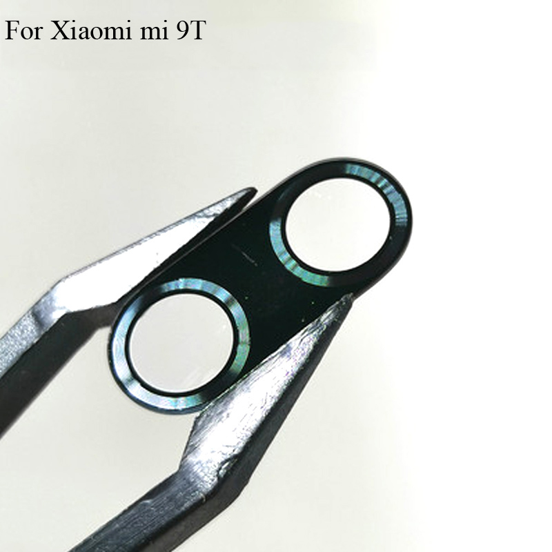 High Quality For Xiaomi Mi 9T 9 T Back Rear Camera Glass Lens Test Good Xiao Mi 9T Mi9T Replacement Parts