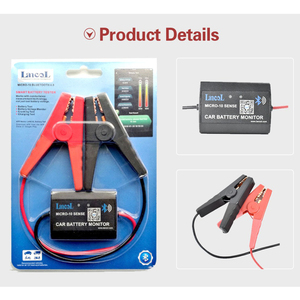 Image 4 - Original Lancol Micro 10 12V Car Battery Tester Wireless Battery Analyzer Cranking Charging Timing Test for Android & iOS