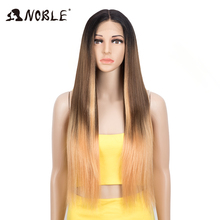 Noble Cosplay Synthetic Lace Front Wig 30 Inch Straight Hair lace part