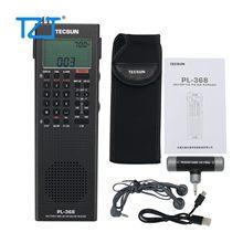 2021 Tecsun PL-368 четырёхъядерный 64-разрядный процессор 108 МГц, полный диапазон радио стерео радио SSB DSP радио Цифровая Демодуляция USB зарядка