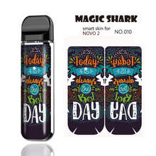 Magic Shark Dragon Sexy Girl Leopard Snake Army Money Dollar Sticker Case Film Cover Skin for Smok