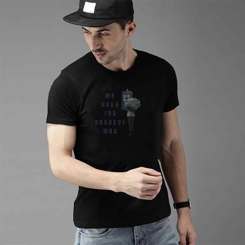 Vintage We Need You Raggedy Man Doctor Who Robot Plunger t shirt s-79xl Short-Sleeve Other Leisure men's t-shirts