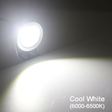 1000LM 10W  LED Ground Light 12V DC Cool  Warm White IP65 Waterproof Flood Lamp Lighting