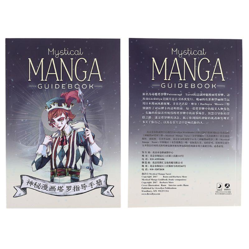 Místico manga tarot 78 cartas deck festa