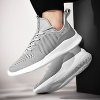 2019 autumn and winter new lightweight breathable fashion wild flying weaving craft men's sports shoes large size 39 48