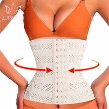 LANFEI Modeling Waist Trainer Body Shaper Pulling Strap Fajas Womens Slimming Corset Cincher Belts Support Band Underwear