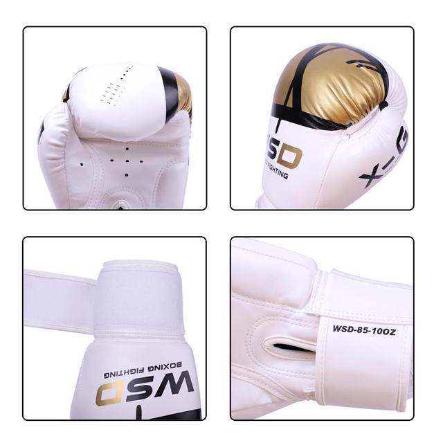 REXCHI Kick Boxing Gloves for Men Women PU Karate Muay Thai Guantes De Boxeo Free Fight MMA Sanda Training Adults Kids Equipment 2