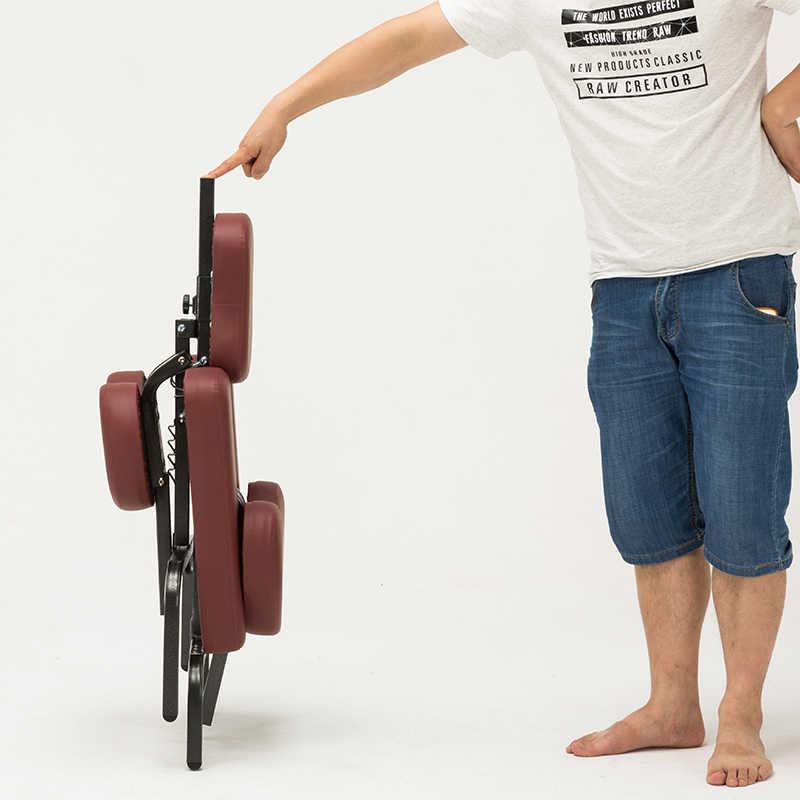 Кресло для салона складное регулируемое кресло для выскабливания татуировок складное массажное кресло переносное кресло для тату складное кресло для салона красоты