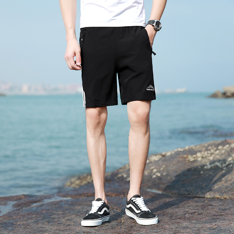 Sports Shorts Men Running Fitness Quick-Dry Stylish Loose Wear Casual Shorts Summer Loose-Fit Shorts Plus-sized
