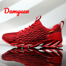 Damyuan 2019 New Fashion Blade Shoes Men Plug Size 46 Comfortables Breathable Non-leather Casual Lightweight Sneakers VIP Link