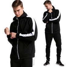 Новая модная толстовка теплая зимняя мужская спортивная одежда