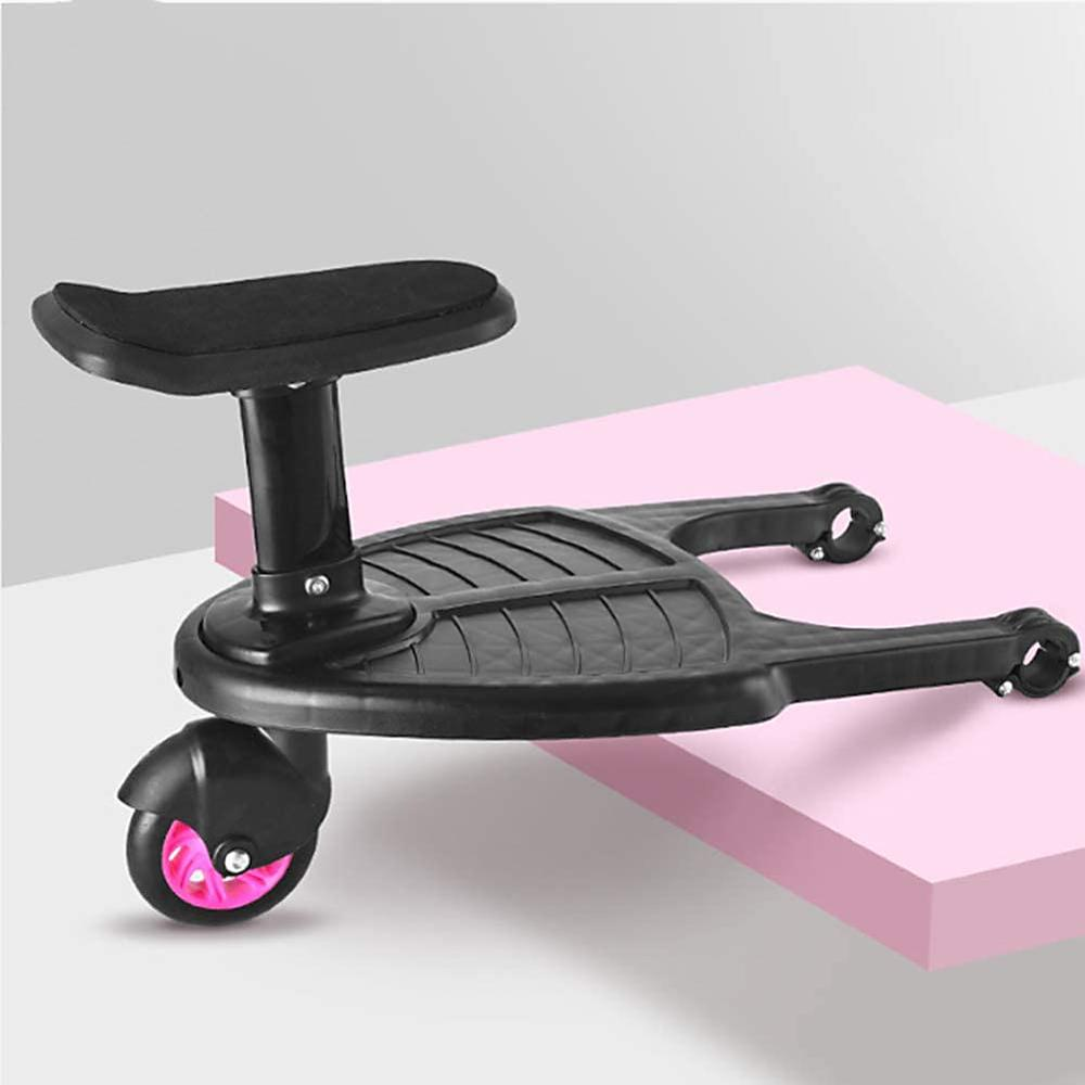 Baby Stroller Auxiliary Pedal Second Child Artifact Trailer Twins Baby Cart Two Children Standing Plate Sitting Seat