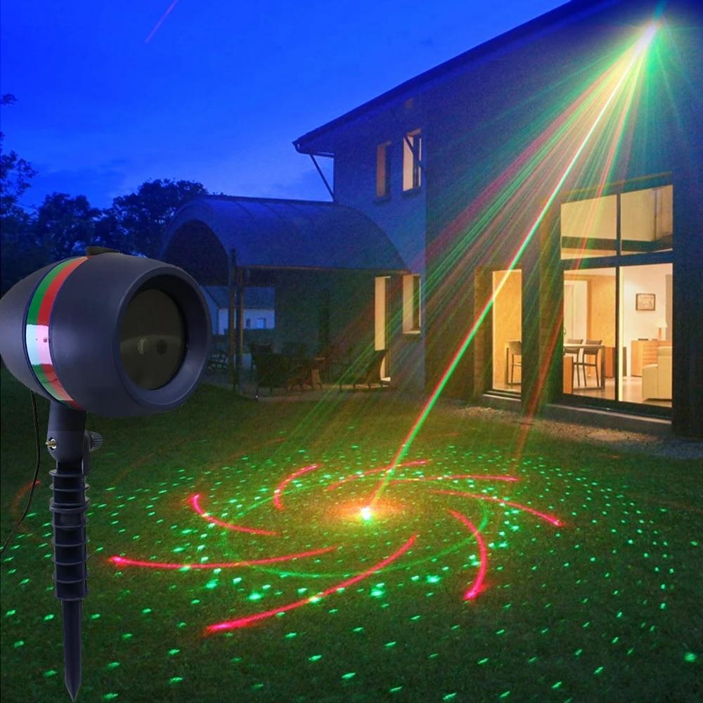 Natal Outdoor Sky Star Laser Proyektor Lampu Tahan Air Kolam Taman Shower Pemandangan Lampu Sorot Untuk Rumput Taman Dekorasi Tahap Efek Pencahayaan Aliexpress