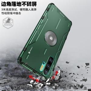 Image 3 - Magiczny pancerz metalowy aluminiowy pokrowiec do Huawei P30 Pro Mate 30 20 Pro pokrowiec z miękkiego silikonu odporny na wstrząsy pokrowiec do Huawei Nova 5 Pro Capa