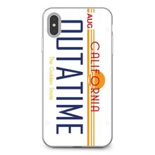 Pour Samsung Galaxy S6 S10E S10 Edge Lite Plus noyau Grand Prime Alpha J1 mini californie OUTATIME plaque d'immatriculation BTTF couverture souple(China)