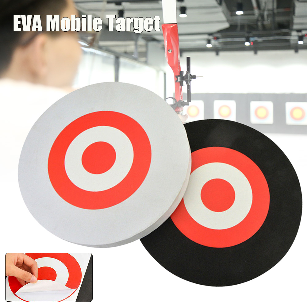 Foam Arrow Target Board Round Archery Decor EVA Game Shooting Practice Outdoor