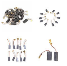 10 шт мини дрель Замена для электрической мясорубки угольные