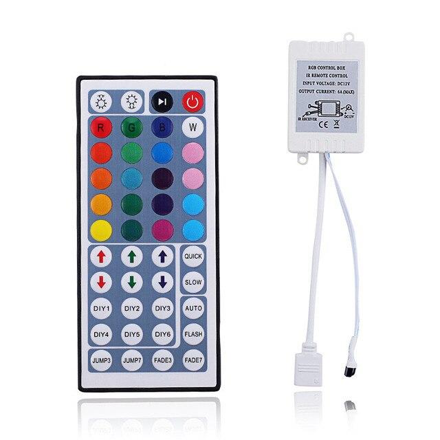 3/24/44Keys LED RGB Controller DC12V IR Fernbedienung für SMD 3528 5050 RGB LED Streifen lichter