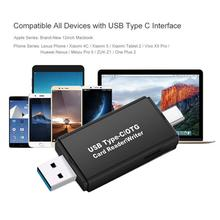 Type C & Micro USB & USB 3 In 1 OTG Card Reader High-speed USB2.0 Universal OTG TF/SD For Android Computer Extension Headers 2 in 1 otg card reader micro usb tf sd card reader phone extension headers micro usb adapter gv99