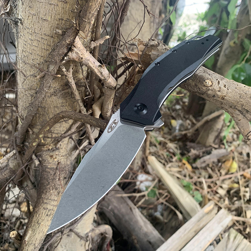 Knife Color ZT0357 Hunting Tactical Original G10 Packaging Outdoor Knives Handle EDC Folding Box