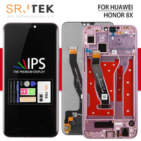 For HUAWEI Honor 8X LCD Touch For Honor View 10 Lite Glass Panel Sensor For Huawei Honor 8X MAX Display Frame Screen JSN L22