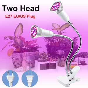 EU US Phyto Light Full Spectrum LED Grow Lamp 18W 20W Plant Lights AC85-265V Indoor Garden Seeding Flower Fitolampy Growth Tent