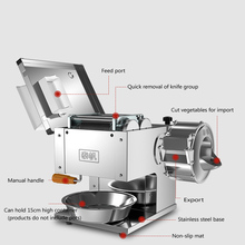 Vegetable-Cutting-Machine Commercial-Slicer Fully-Automatic Household 850w