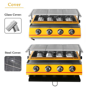 Image 4 - 2/3/4/6/8 Burners Gas BBQ Grills Infrared gas burner Kitchen Barbecue Grill Tools For Outdoor churrasqueira Easily Cleaned