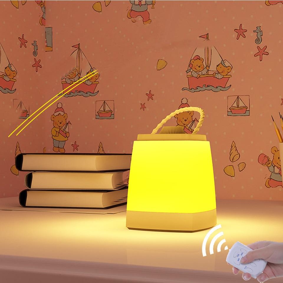 Kids Portable Lantern Baby Nursery Lamp
