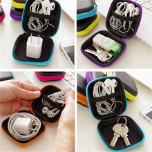 Case Charger Storage-Bag Headphone-Case Protective Data-Cable Travel Coin for Convenient