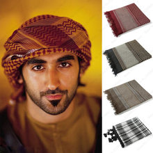 Men Muslim Abaya Arabic Arab Prayer Hat Hijab Islamic Clothing Eid Tangle Turban Dubai Head Scarf Scarves for Man Headpiece Caps(China)