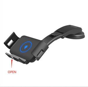 Image 5 - Carregador sem fio do carro dobrável tela 10w qi carregador de telefone rápido suporte para xiaomi samsung galaxy fold2 fold2 s10 iphone huawei companheiro x