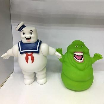 1 Pza fantasma busters Stay Puft malvavisco hombre y verde Slimer PVC acción figuras de juguete para niños