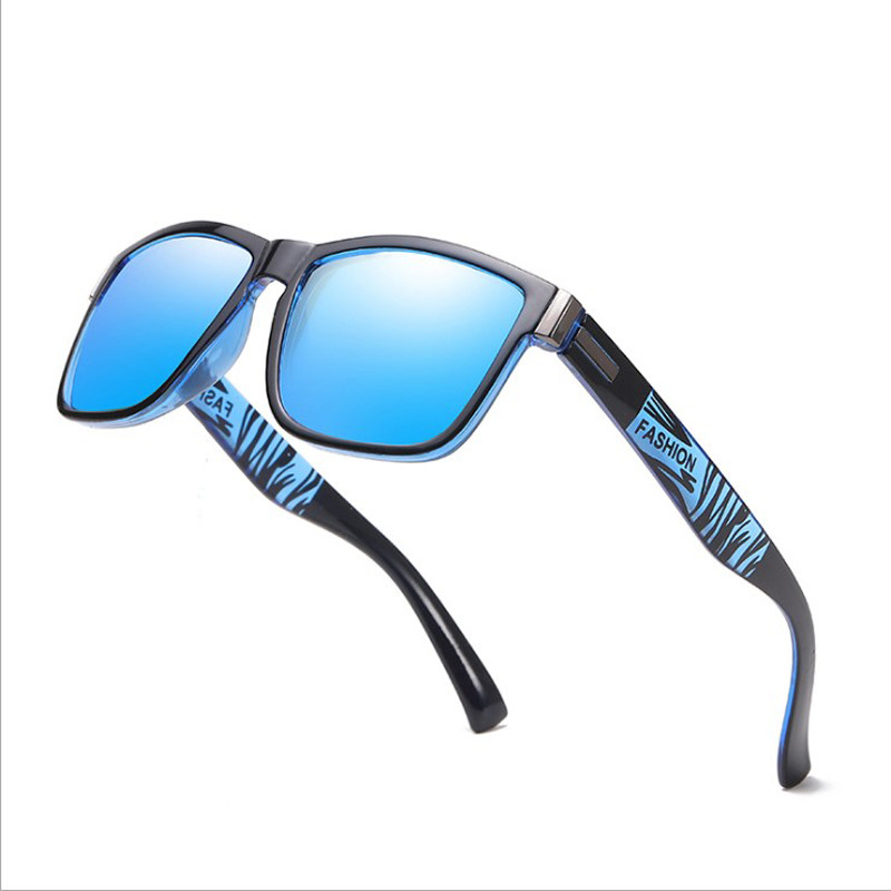 Fashion Polarized Men Sunglasses Mirror Driving/Sports Sunglasses Men/Women Anti-Reflective Black Shades Male/Female EyeWear